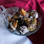 Chocolate Dipped Figs - Homemade Food Gift Ideas