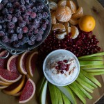 Winter Fruit Platter