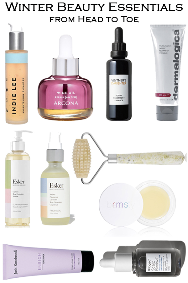 Winter Beauty Essentials for face, skin, hair, nails, and so much more. Get the best face and body oils, the latest beauty item, and so much more in the beauty guide.