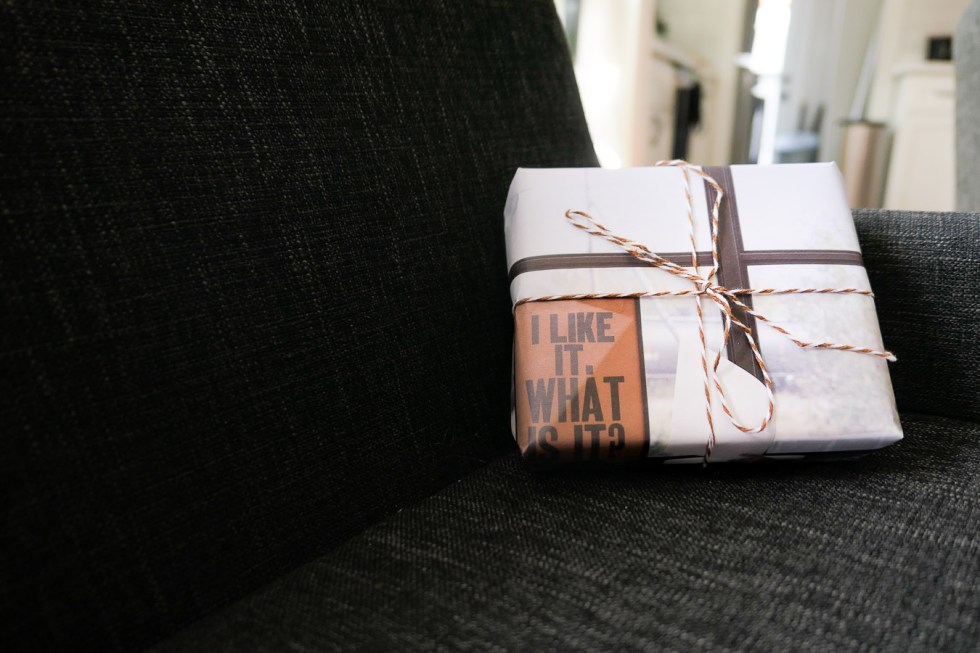 Eco-Friendly Gift Wrapping + Shipping