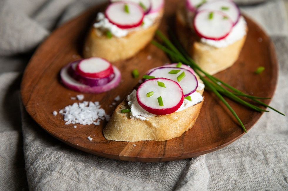 Raw Radish Appetizer