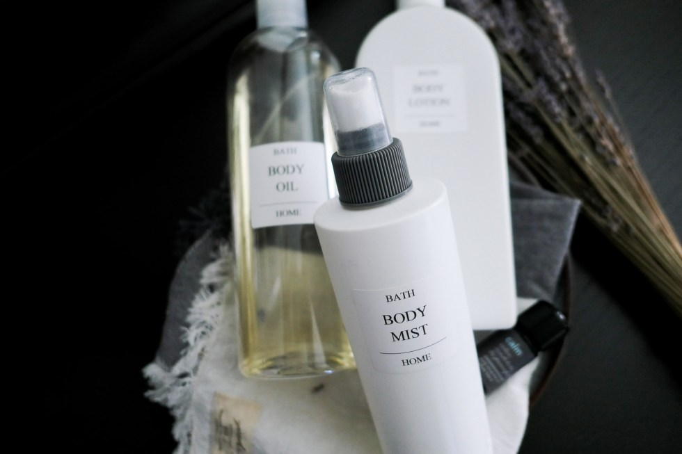Homemade Moisturizing Products - Homemade Labels on white/Clear Bottles