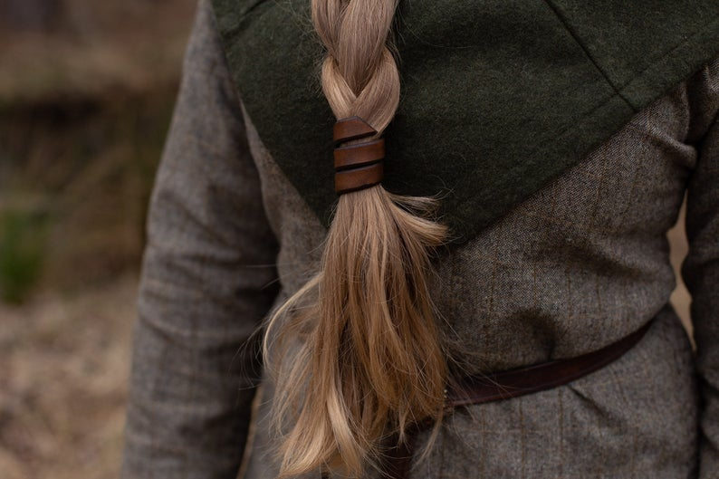 Leather Hair Wrap - Shop Local on Etsy