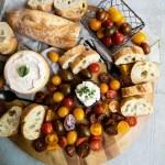 cherry tomato appetizer board
