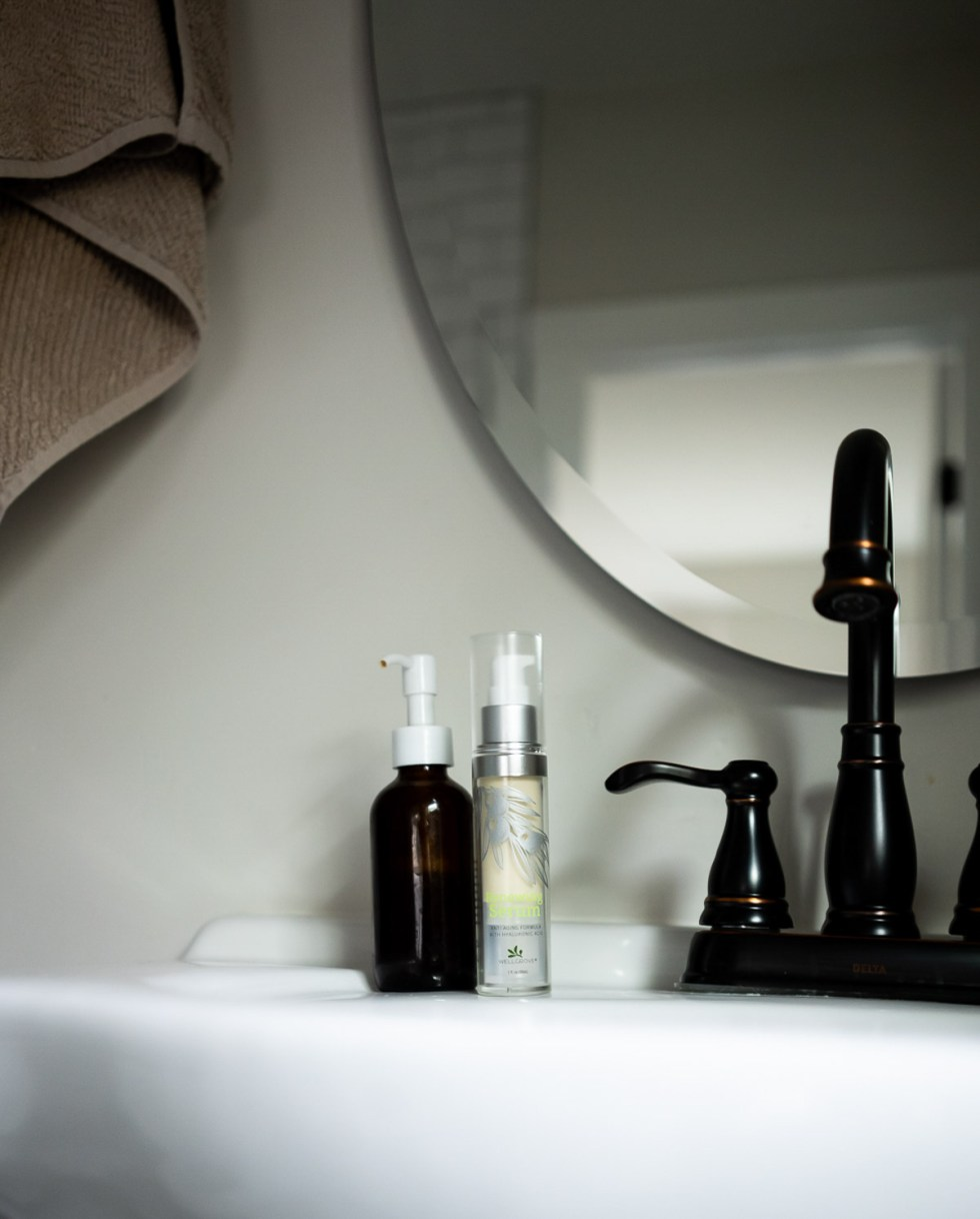 Morning Skincare Routine  with Clean Beauty Products - Homemade Cleanser and Olive Oil Serum