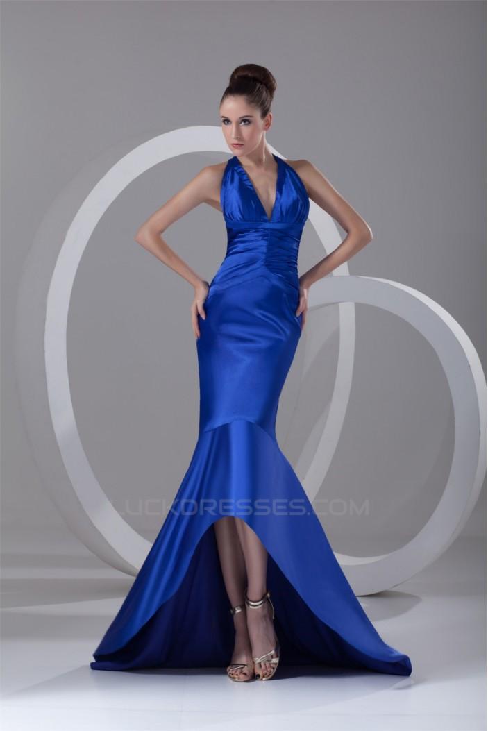 TrumpetMermaid Long Blue PromFormal Evening Dresses 02020936