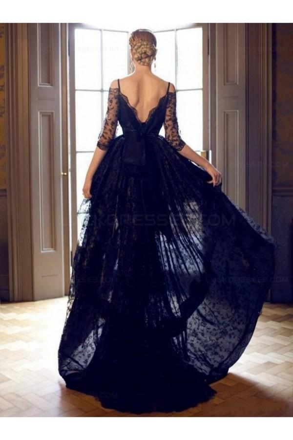 High -shoulder Lace - Prom Evening Formal