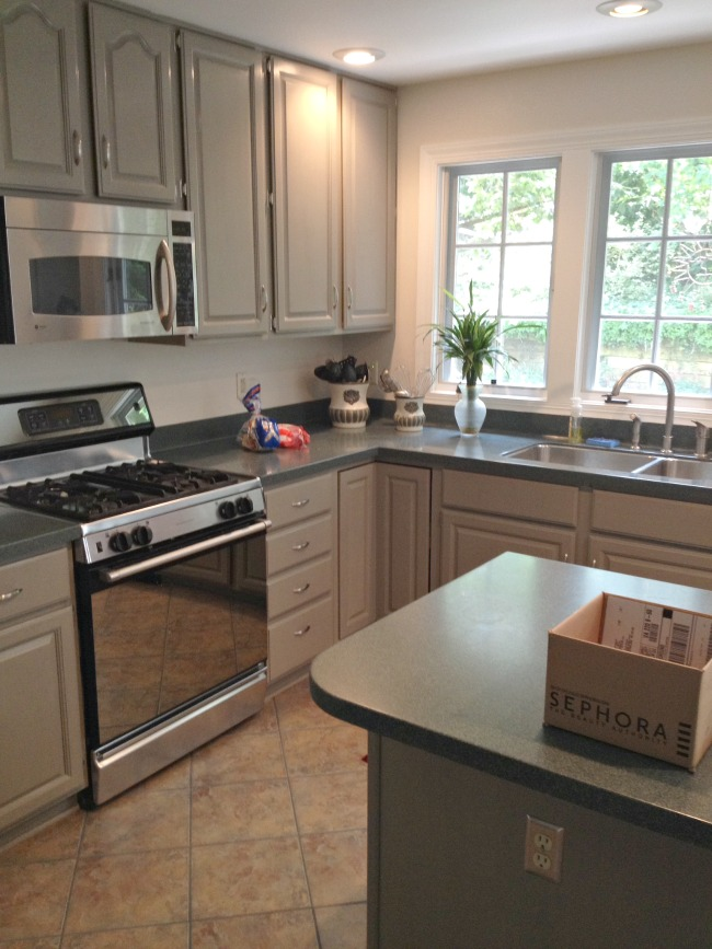 kitchen cabinet makeovers old fashioned faucets makeover with paint the lucketts store