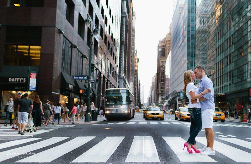 New York Engagement Photography JamieDan
