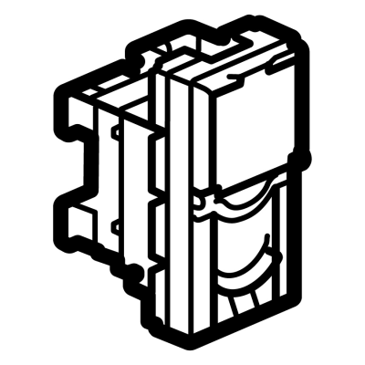 Legrand Electric Ltd 572802 : Socket, RJ45 Cat6 UTP 1