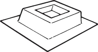 Vent-Axia Ltd PBZ630 : Purlin Box, for EuroSeries Fans 630mm