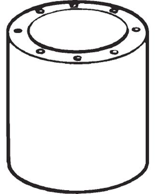 Vent-Axia Ltd 10514250 : Attenuator, Cased 250mm