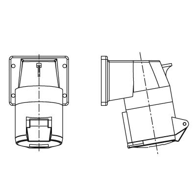 F Walther Electrics Ltd 514304 : Socket, Panel Right