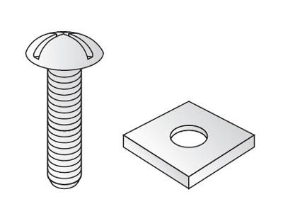 Unistrut M6X20RB : Nut & Bolt, Roofing M6x20mm Electro
