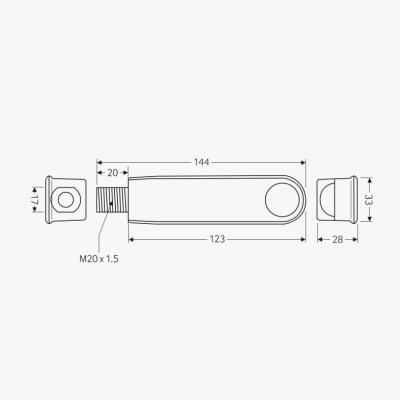 CP Electronics EBMPIR-MB-AD : Detector, Miniature Batten