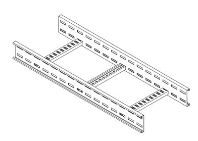 Metsec Cable Management LSL100/0600HDG/3 : Ladder Rack