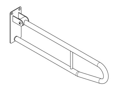 Franke Sissons Ltd CNTX70B : Grab Rail, Fold Down Contina