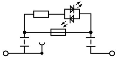 Weidmuller Ltd 1012200000 : Fuse Terminal, WSI 6/LD 30-70V