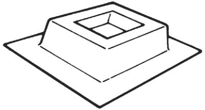 Vent-Axia Ltd PBZ500 : Purlin Box, for EuroSeries Fans 500mm