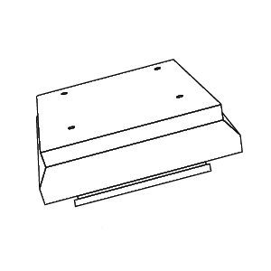 Manrose Manufacturing Ltd 1309 : Termination, Roof Cowl
