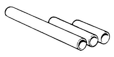 Manrose Manufacturing Ltd 41500 : Pipe, Round 100mm/4in