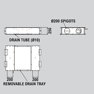 Xpelair 92002AA : Ventilation Unit, MVHR Xcell 600 Xcell