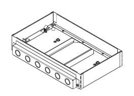 Legrand Electric Ltd AFU3CON78 : Box, Service Outlet