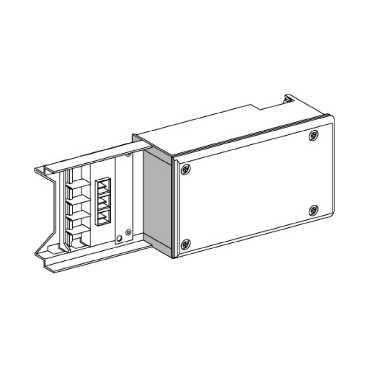 Schneider Electric Busbar Systems KNA63AB4 : Feed Unit