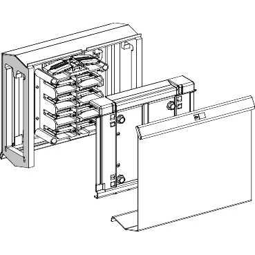 Schneider Electric Busbar Systems KSA250FA4 : Adaptor