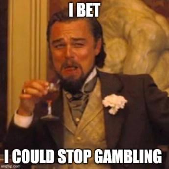 Gambling memes - the smart ass