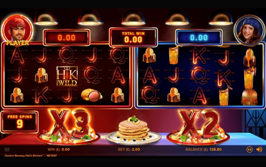 Hell's Kitchen slot free spins