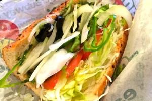 サブウェイのサンドイッチ