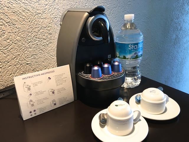 客室のコーヒーメーカー