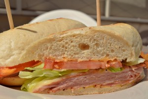 Hot Ham & Havarti Sandwich