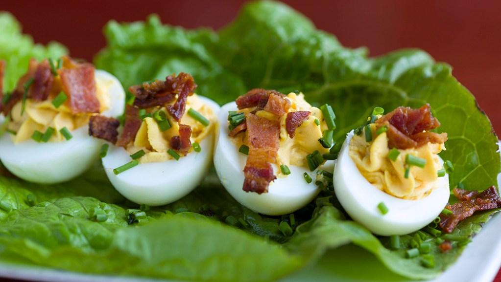 Voodoo Deviled Eggs