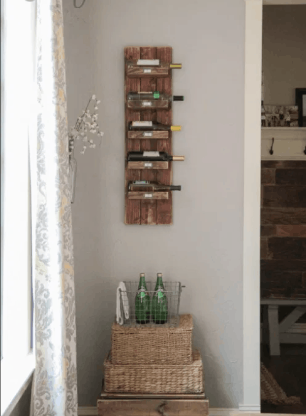 homemade wine rack plans you can diy easily