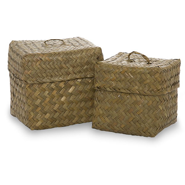 Small Basket Square Lid