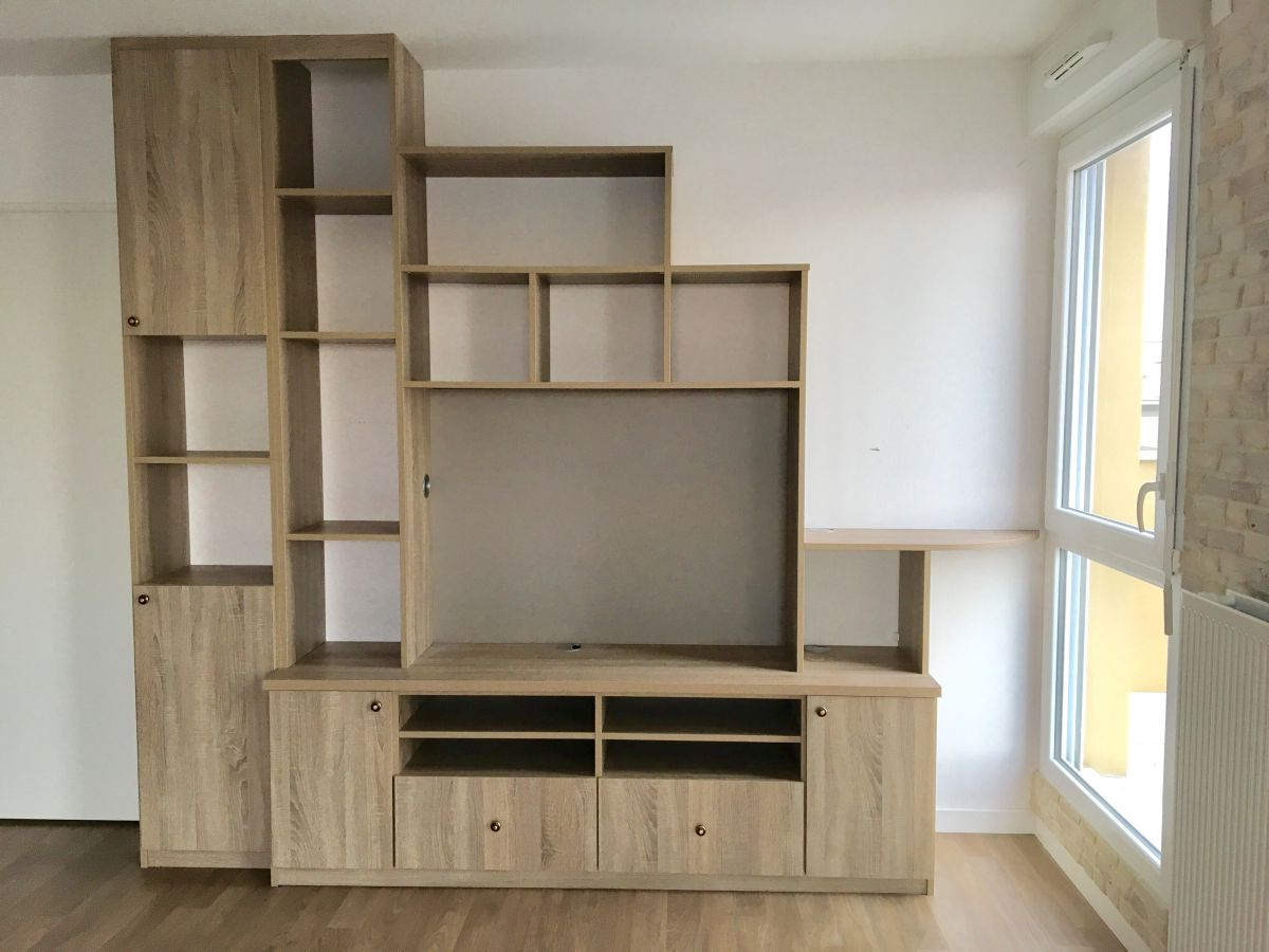 meuble tv bibliotheque archea luckyfind