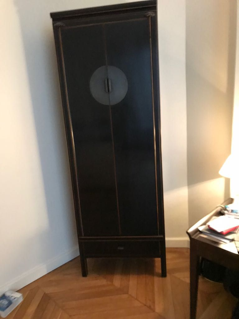 Armoire Penderie Etagere Style Asiatique Luckyfind