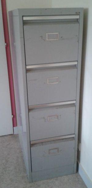 casiers metalliques industriel 4 tiroirs
