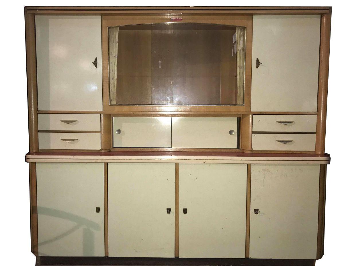meuble cuisine formica vintage de marque chatelain 1960