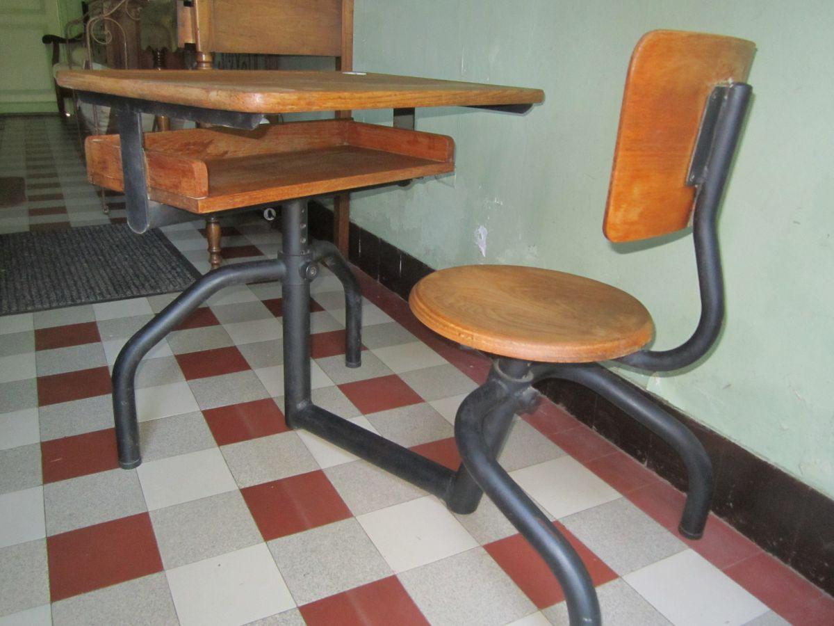bureau ecolier ancien