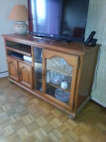 meuble tv vintage retro annees 50 60