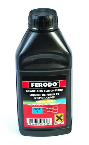 FERODO - DOT4 Syntetická brzdová kapalina 500ml
