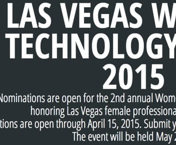 Las Vegas Women in Tech Award