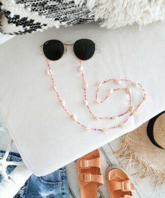 Brillenkette VITAMIN SEA  – mit bunten Perlen
