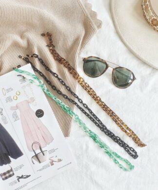 Brillenkette TORTOISE – verschiedene Farben