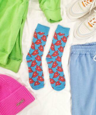 Socken LIPS
