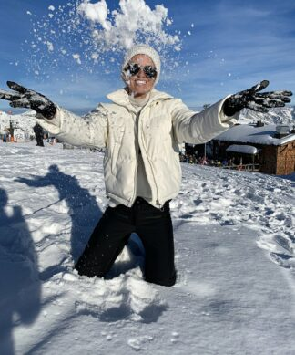 wattierte Jacke AGAINST THE COLD 2.0 – weiss SALE