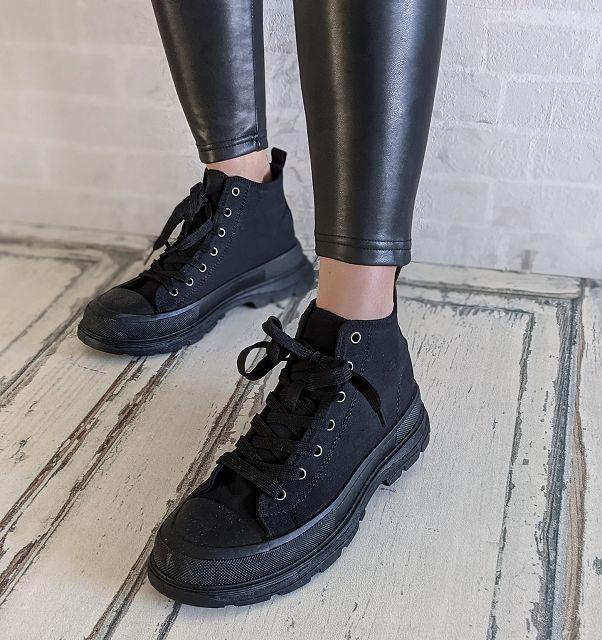 Sneaker HIGHTOP – all black – SALE